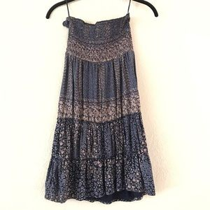Gorgeous Floral Strapless Dress, Express, Size S